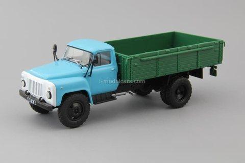 GAZ-53-12 blue-green 1:43 DeAgostini Auto Legends USSR Trucks #48