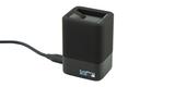 Зарядное устройство для двух аккумуляторных батарей GoPro HERO6/7/8 Dual Battery Charger + Battery (AJDBD-001-EU) внешний вид