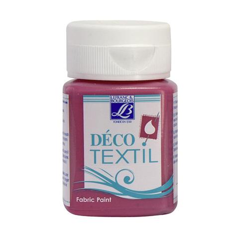 Краска по ткани Lefranc&Bourgeois DECO TEXTIL 50 мл 443, фуксия