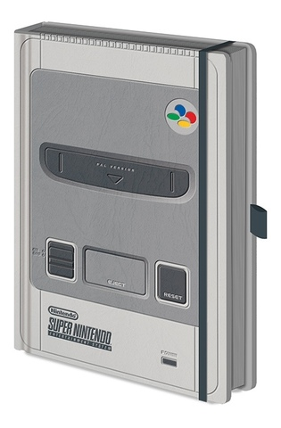 Записная книжка Super Nintendo