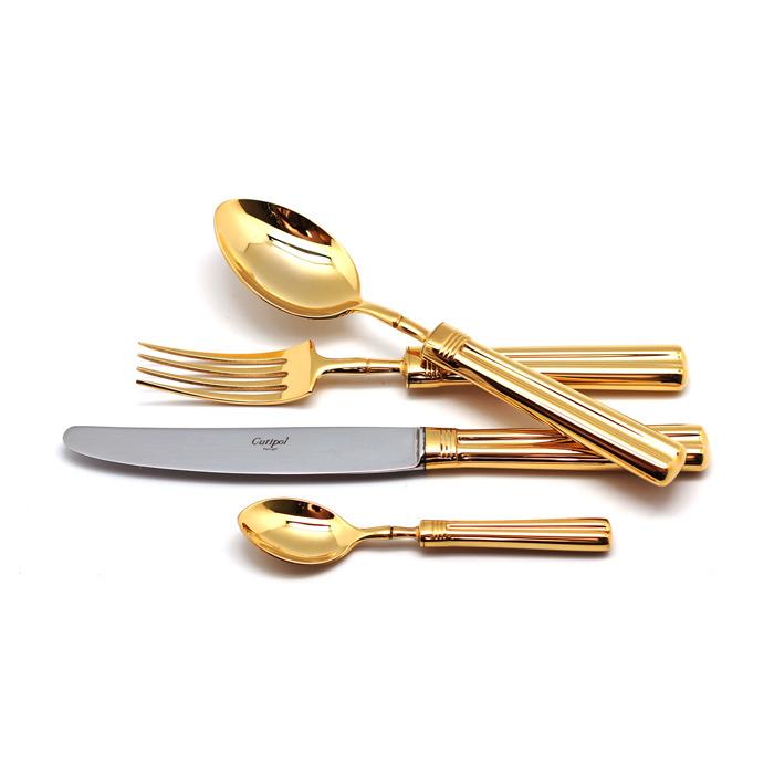 Набор полированный 24 пр FONTAINEBLEAU GOLD, артикул 9161, производитель - Cutipol
