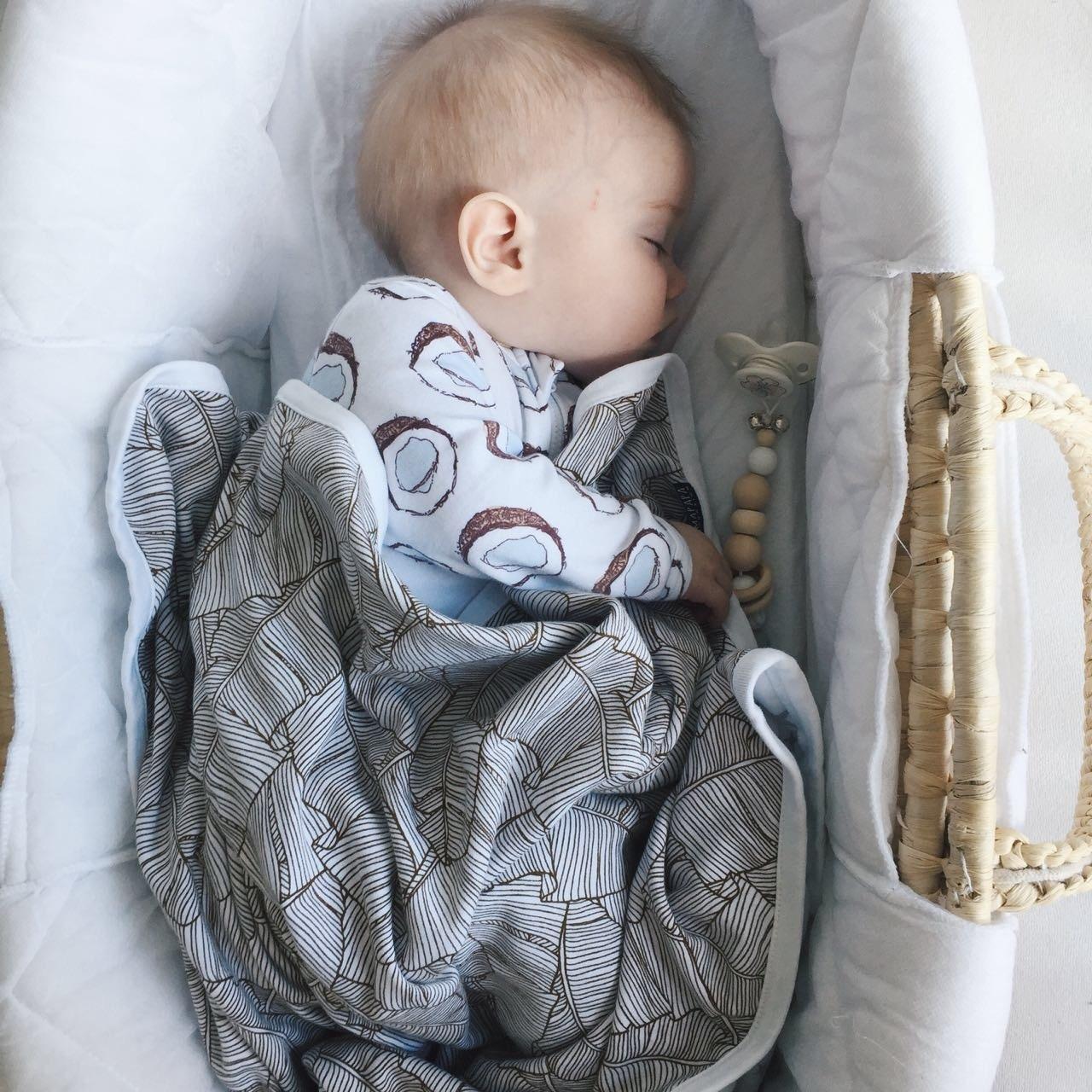 Комбинезон Mjölk  Sleep and Play Кокосы