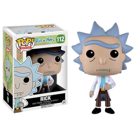 Rick Funko Pop! Vinyl Figure || Рик