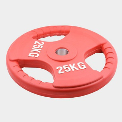 Олимпийский диск евро-классик с тройным хватом 25 кг