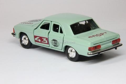 GAZ-3102 Volga Rally Sport #43 gray Agat Mossar Tantal 1:43