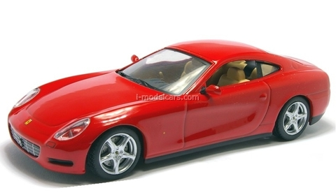 Ferrari 612 Scaglietti red 1:43 Eaglemoss Ferrari Collection #37