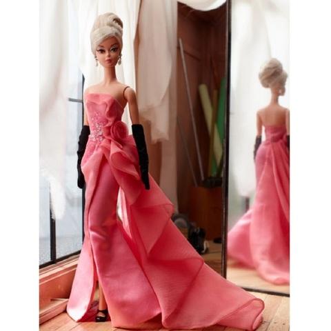 Барби Силкстоун Гламурное Розовое платье