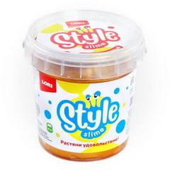 Slaym Lori Style Slime 150ml qızılı banan qoxusu ilə