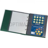 Лист для банкнот OPTIMA XL, 2 ячейки, прозрачный