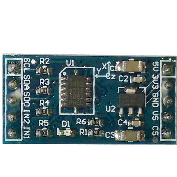 Модуль ADXL345 IIC/SPI акселерометр