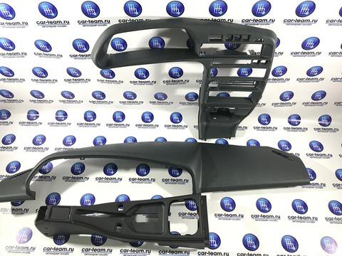 Комплект накладок салона на ВАЗ 2113-14-15 из центральной консоли, накладки панели и тоннели пола