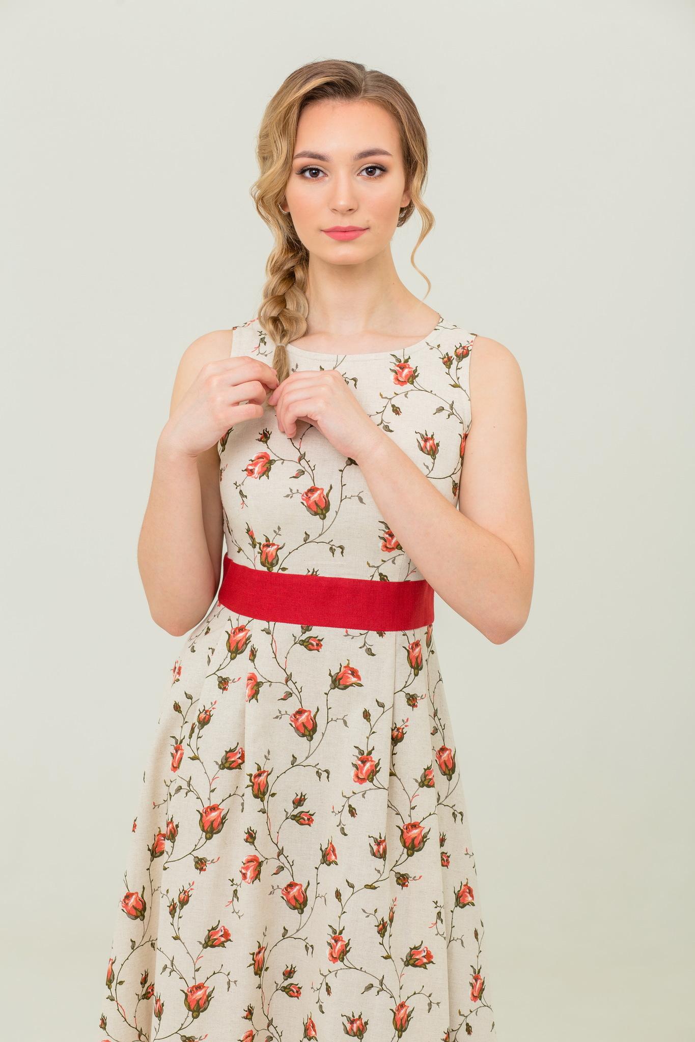 Платье льняное купить