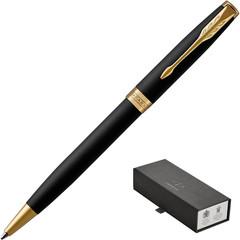Ручка шариковая Parker Sonnet цвет чернил черный цвет корпуса черный (артикул производителя 1931519)