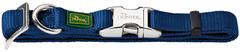 Ошейник для собак Hunter ALU-Strong L (45-65 см) нейлон с металлической застежкой темно-синий