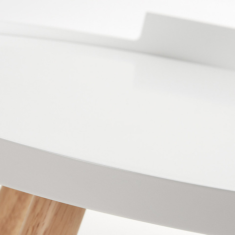Столик Bruk белый