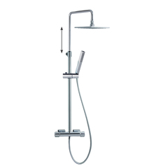 Душевая система с термостатом и тропическим душем для ванны AROLA 265403RK250