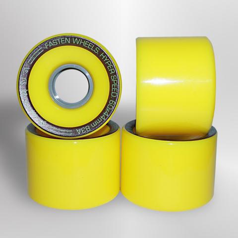 Колёса FASTEN Hyperspeed 83A (Yellow)