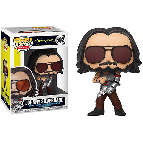 Johnny Silverhand Cyberpunk 2077 Funko Pop! || Джонни Сильверхэнд c оружием