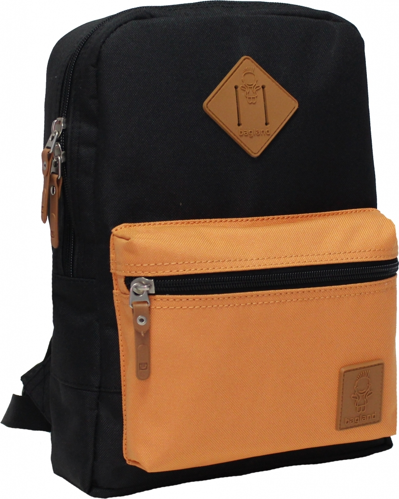 Детские рюкзаки Рюкзак Bagland Молодежный mini 8 л. чёрний/рыжий (0050866) 856b1cacaea25f6ebbf01b0003030a0b.JPG