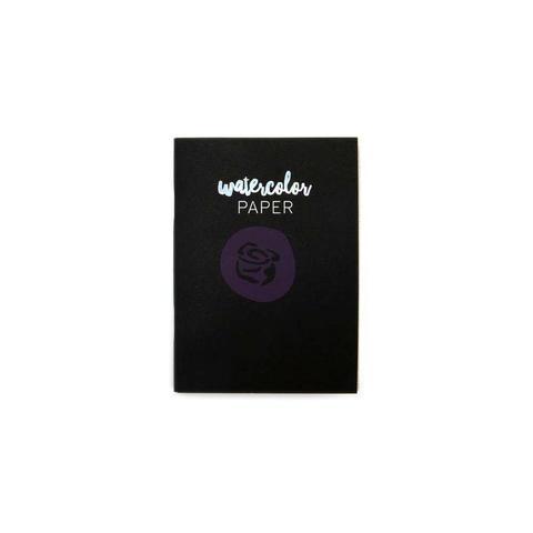 Внутренний акварельный  блок (9х12,4 см) для блокнотов -Prima Traveler's Journal Passport Refill Notebook -Watercolor Paper