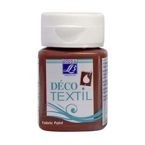 Краска по ткани Lefranc&Bourgeois DECO TEXTIL 50 мл 486, лесной орех