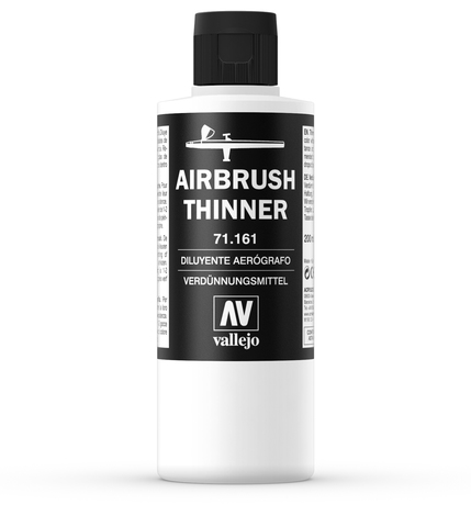Airbrush Thinner 161-200Ml. 200 ml.