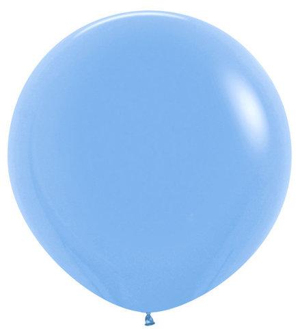 Шар (30''/76 см) Голубой (040), пастель