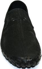 Летние мужские мокасины Roadman S-200 Black