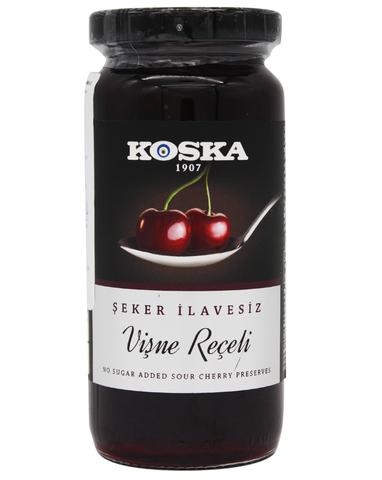 Варенье вишневое без сахара, Koska, 290 г