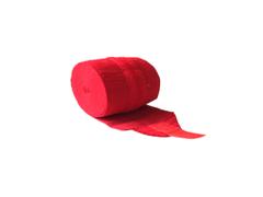 Бинт эластичный спортивный (CROSSFIT) с застёжкой велкро. Цвет: красный. Длина 1,5 м, ширина 8 см: С-310