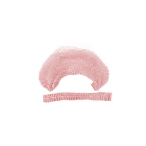 Шапочка-клип спандбонд  50 шт, розовая