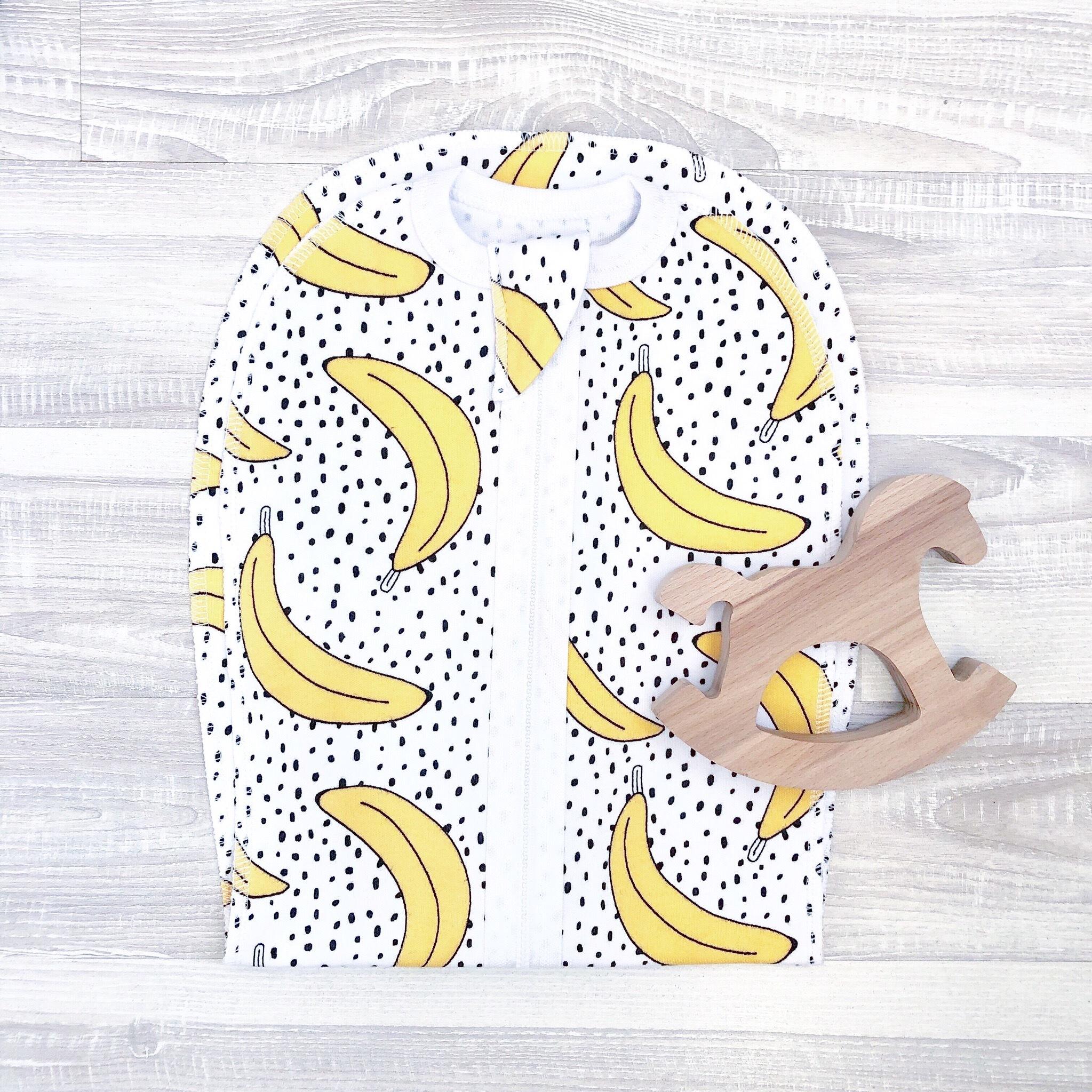 Пелёнка-кокон Mjölk Бананы