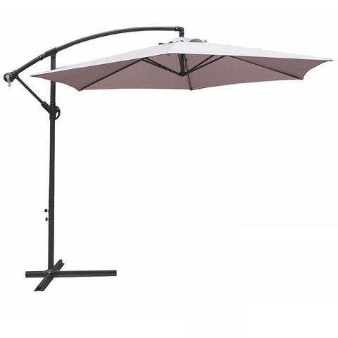 Зонт от солнца круглый Cairo Grey