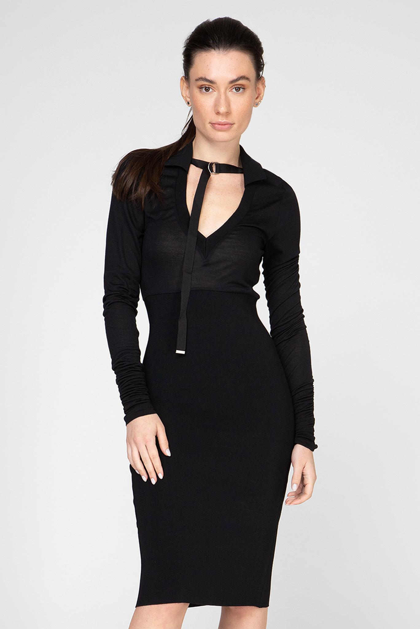 Женское черное платье D-LYB Diesel