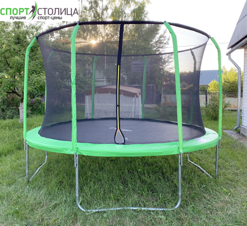 Батут Evo Jump Cosmo 12 FT Green