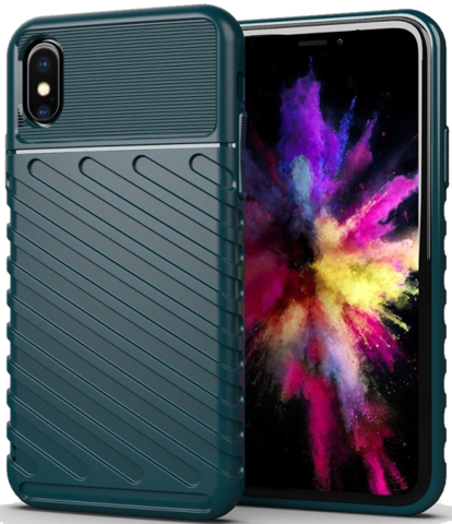 Чехол iPhone XS Max цвет Green (зеленый), серия Onyx, Caseport