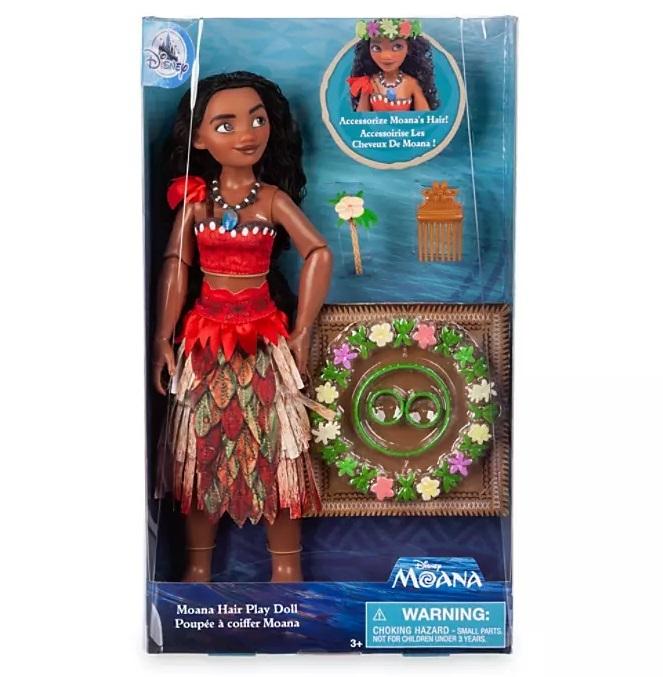 Кукла Моана Disney набор для игры с прическами