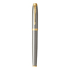 Parker IM Core - Brushed Metal GT, ручка-роллер, F, BL