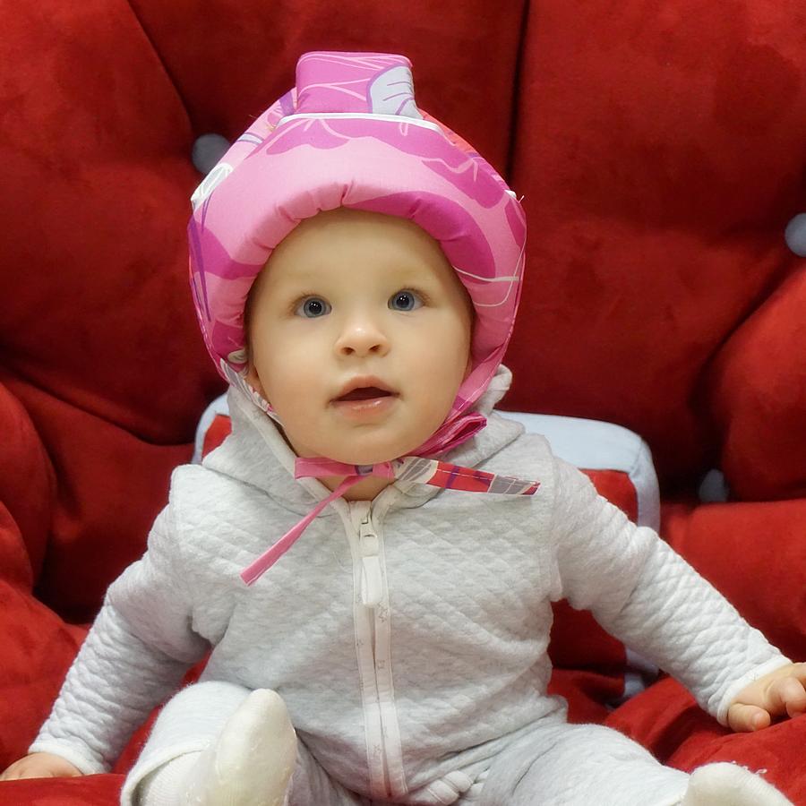 Farla Шлем для защиты головы малыша Mild Пион 5.5.png