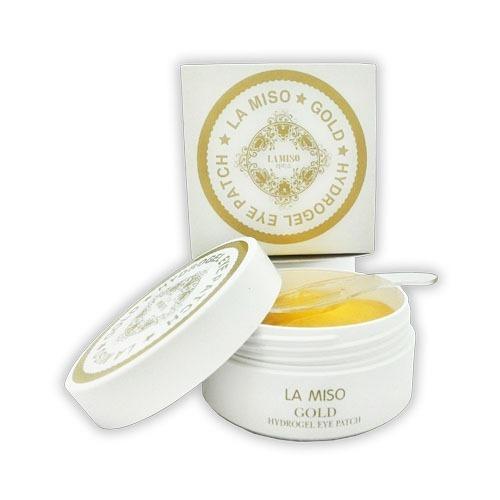 Купить гидрогелевые патчи для глаз с частицами золота La Miso в интернет магазине корейской косметики TopKorea