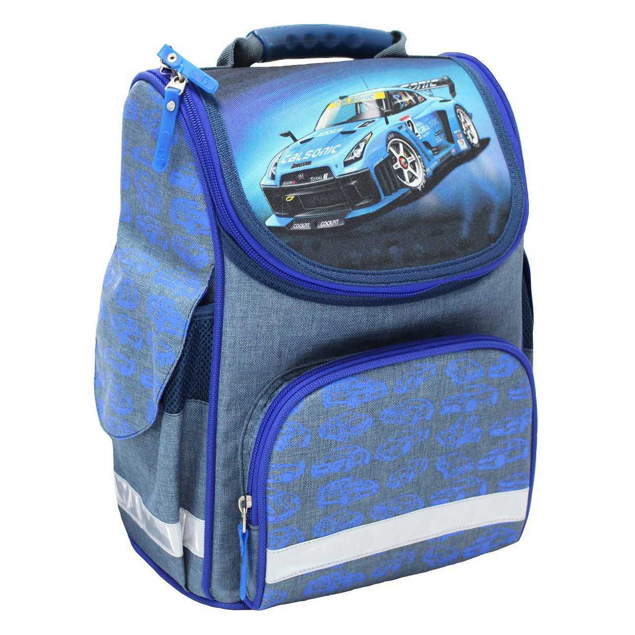Школьные рюкзаки Рюкзак школьный каркасный Bagland Успех 12 л. Синий (56м) (00551692) IMG_4739.jpg