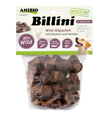 """Billini Wild"" Мясные кусочки из мяса дичи"