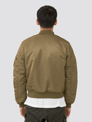 Бомбер Alpha Industries Slim Fit MA-1 Vintage Olive (Оливковый/Оранжевый)
