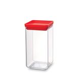 Прямоугольный контейнер (1,6 л), Красный, артикул 290022