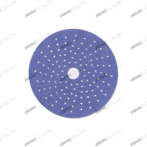 SUNMIGHT Шлифовальный круг CERAMIC 150мм на липучке с мультипылеотводом P180