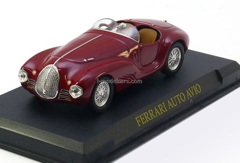 Ferrari Auto Avio Construzioni 815 red 1:43 Eaglemoss Ferrari Collection #34