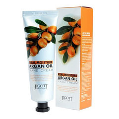 Jigott Real Moisture Argan Oil - Крем для рук с аргановым маслом