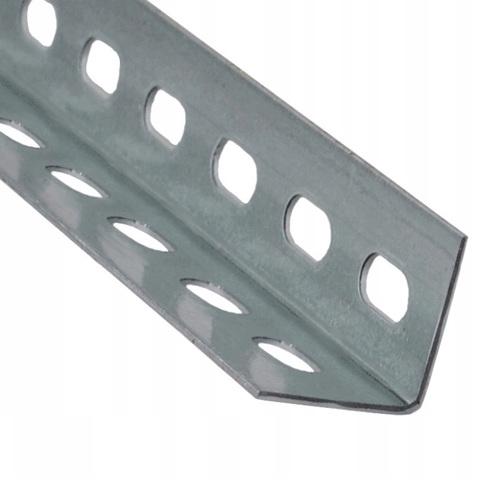 Профиль монтажный L-образный 30х30х2 мм, оцинкованный, 2 м.