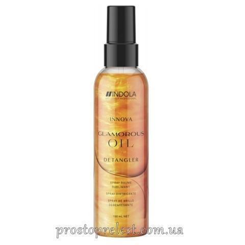 Indola Innova Glamorous Oil Shine Spray - Спрей для блеска волос