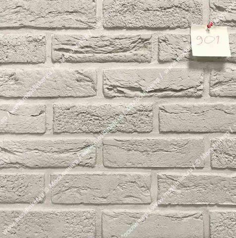 Клинкервиль 901, цвет белый - Искусственная плитка под покраску для имитации кирпичной кладки